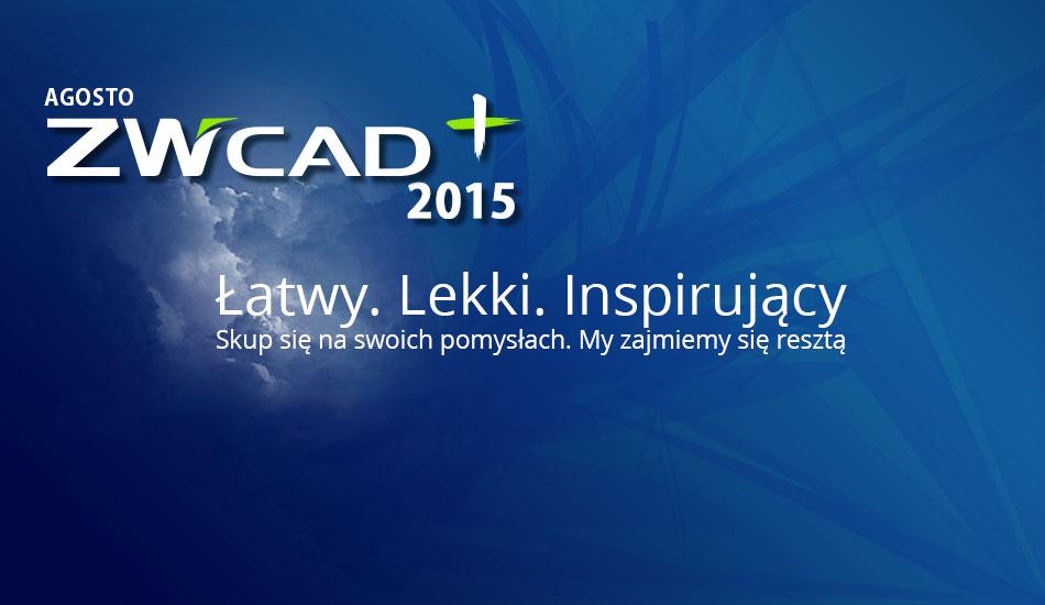 ZWCad PLUS 2015 - Premiera