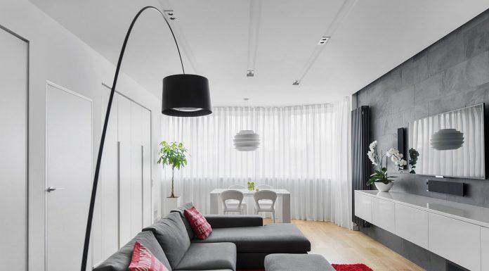 Nowoczesny apartament w Moskwie - Tikhonov Design