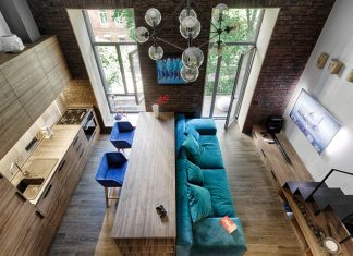 Mały apartament w Kijowie