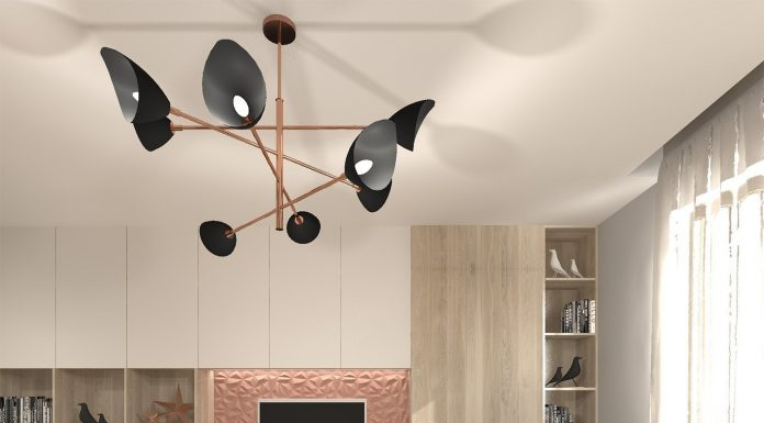 Nowoczesny salon od KRU Design