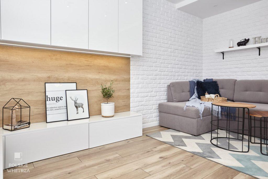 Projekt remontowanego mieszkania w bloku z wielkiej płyty