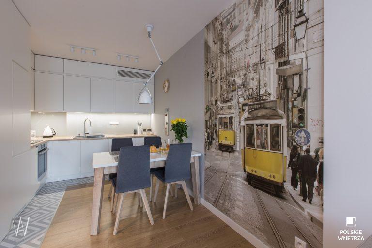 Trójkąty i tramwaje – projekt mieszkania