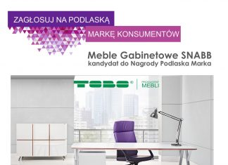 Meble Gabinetowe SNABB nominowane do Podlaskiej Marki