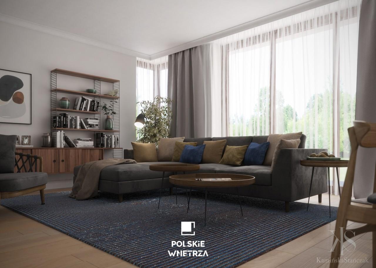Mieszkanie przeznaczone dla młodej pary - Polskie Wnętrza
