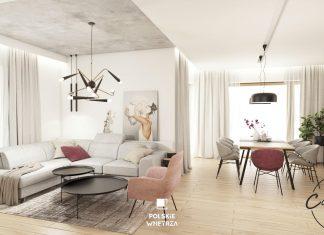 MintSky projekt wnętrza w minimalistycznym stylu