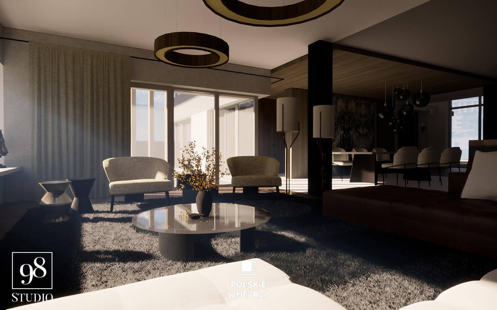 Projekt nowoczesnego domu 07