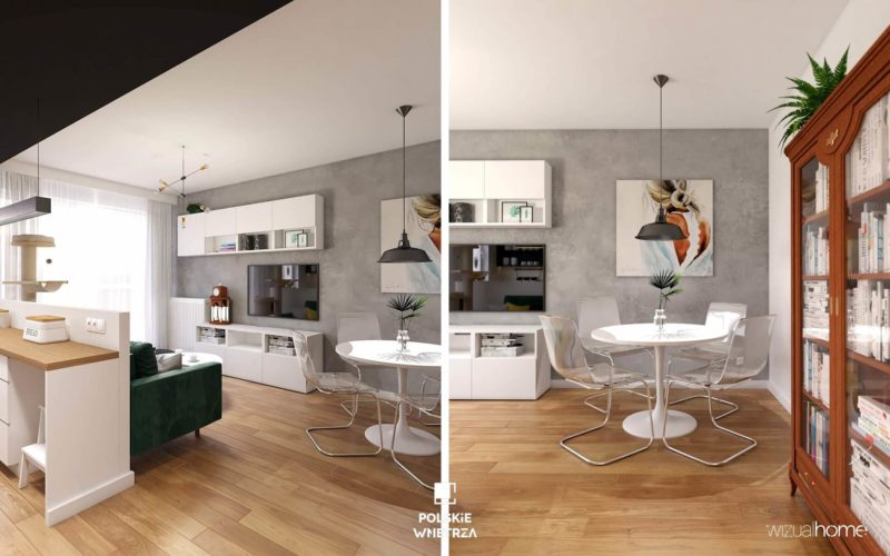 mieszkanie w stylu eklektycznym 04 | wizualhome