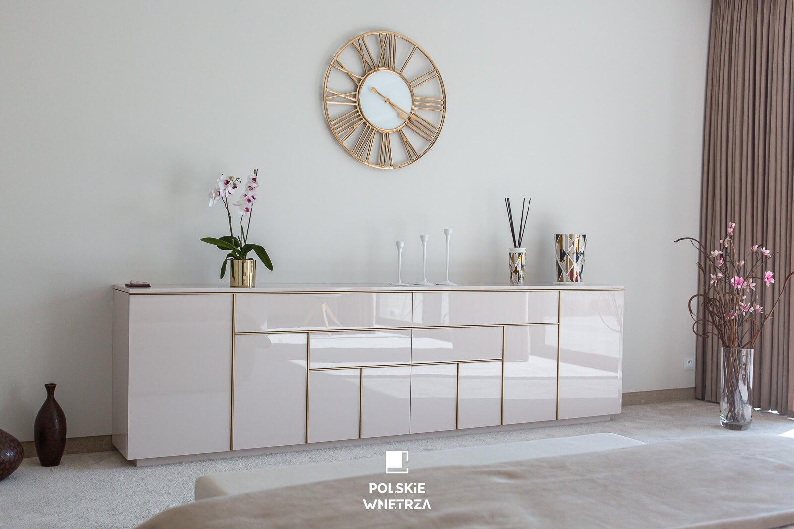 Dom w pastelach - projekt wnętrza - Polskie Wnętrza