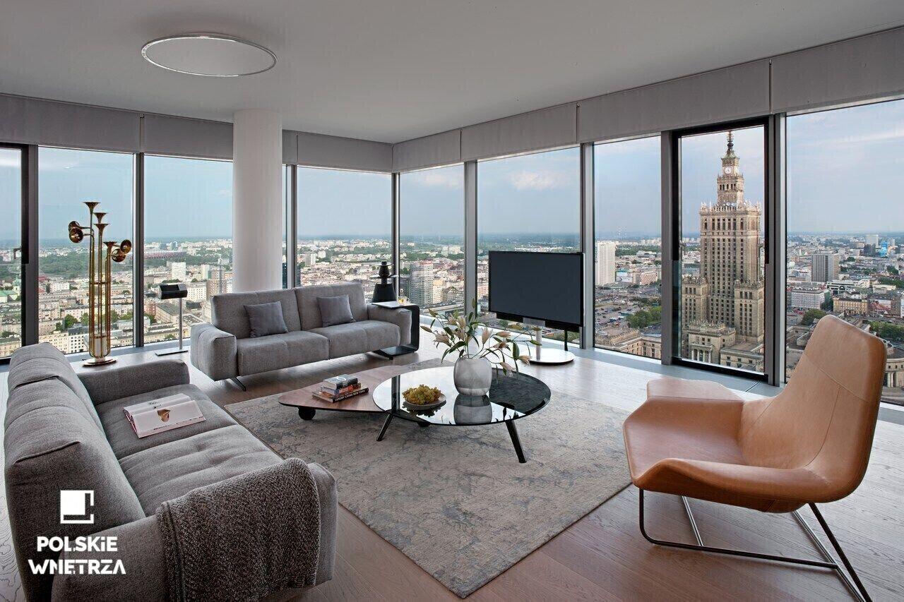 Anna Koszela - Apartament w Warszawie na Polskie Wnętrza