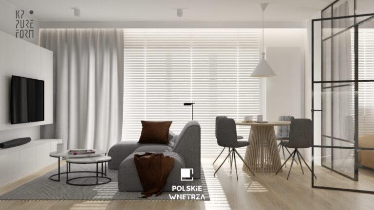 Soft Minimal – projekt mieszkania