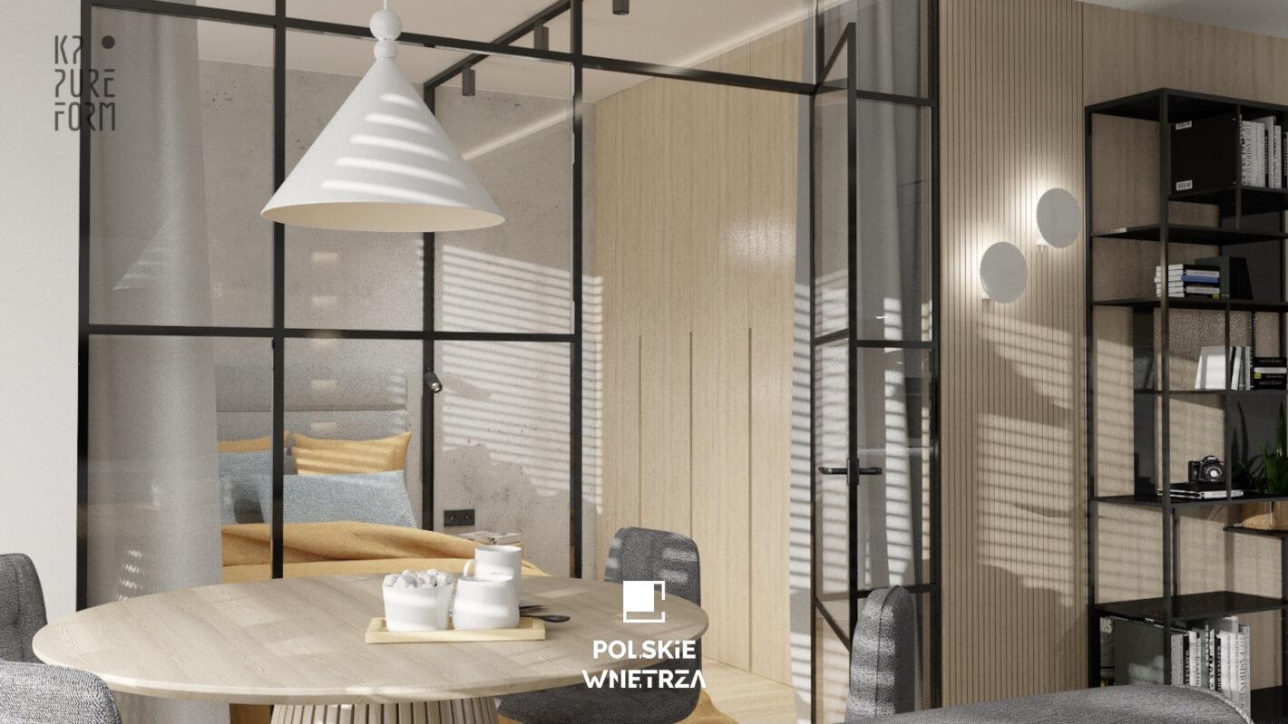 SOFT MINIMAL Projekt Mieszkania - Polskie Wnętrza