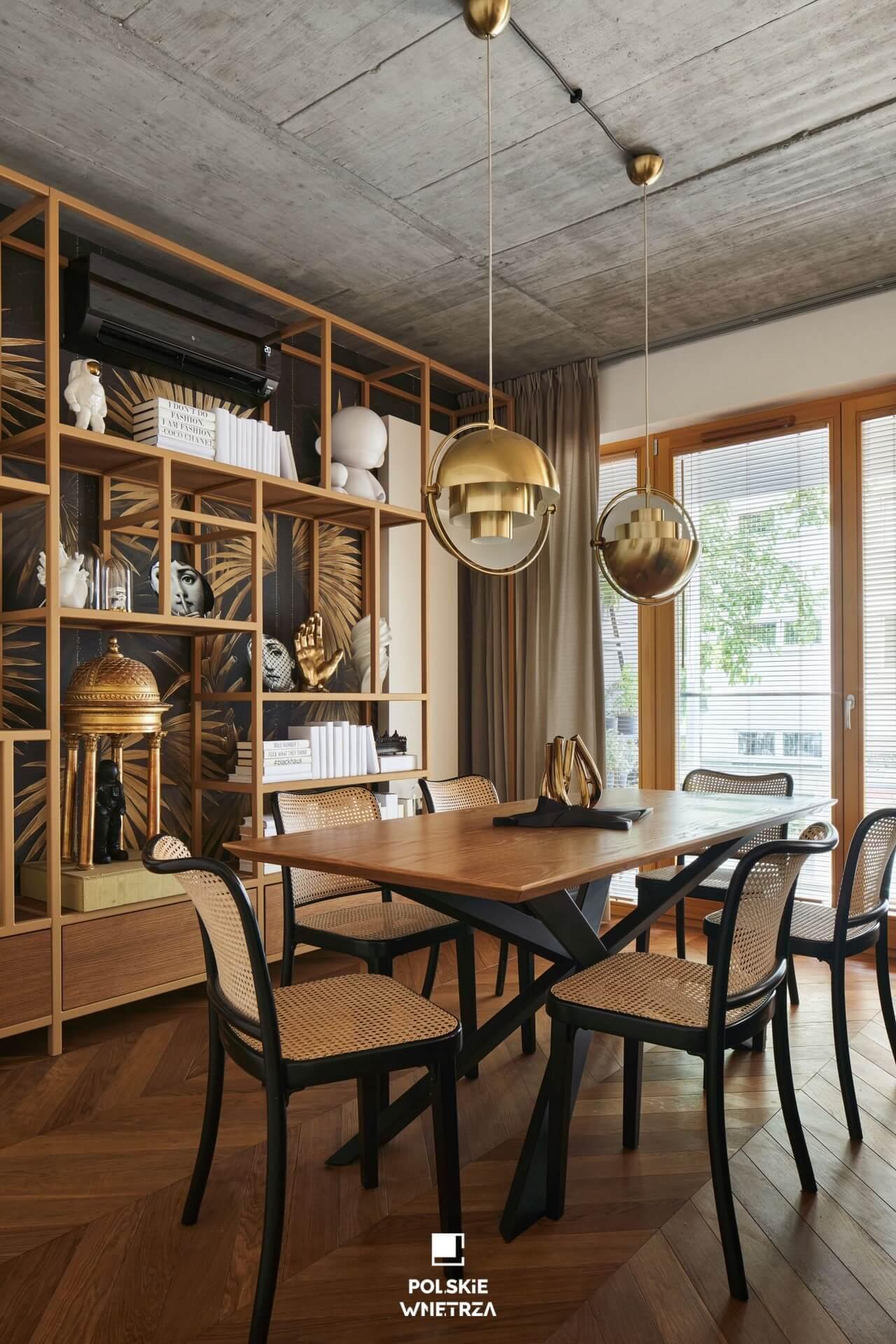 Blackhaus - Elegancki azyl dla pary - Polskie Wnętrza