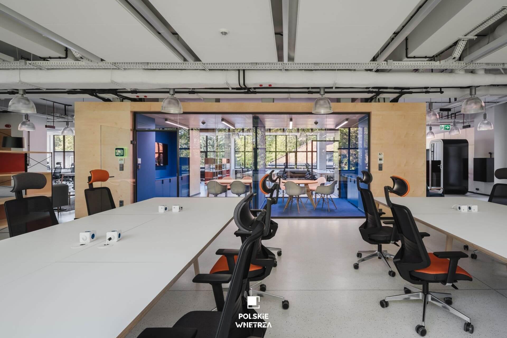 Biuro… które doda Ci skrzydeł... Red Bull.. Polskie Wnętrza