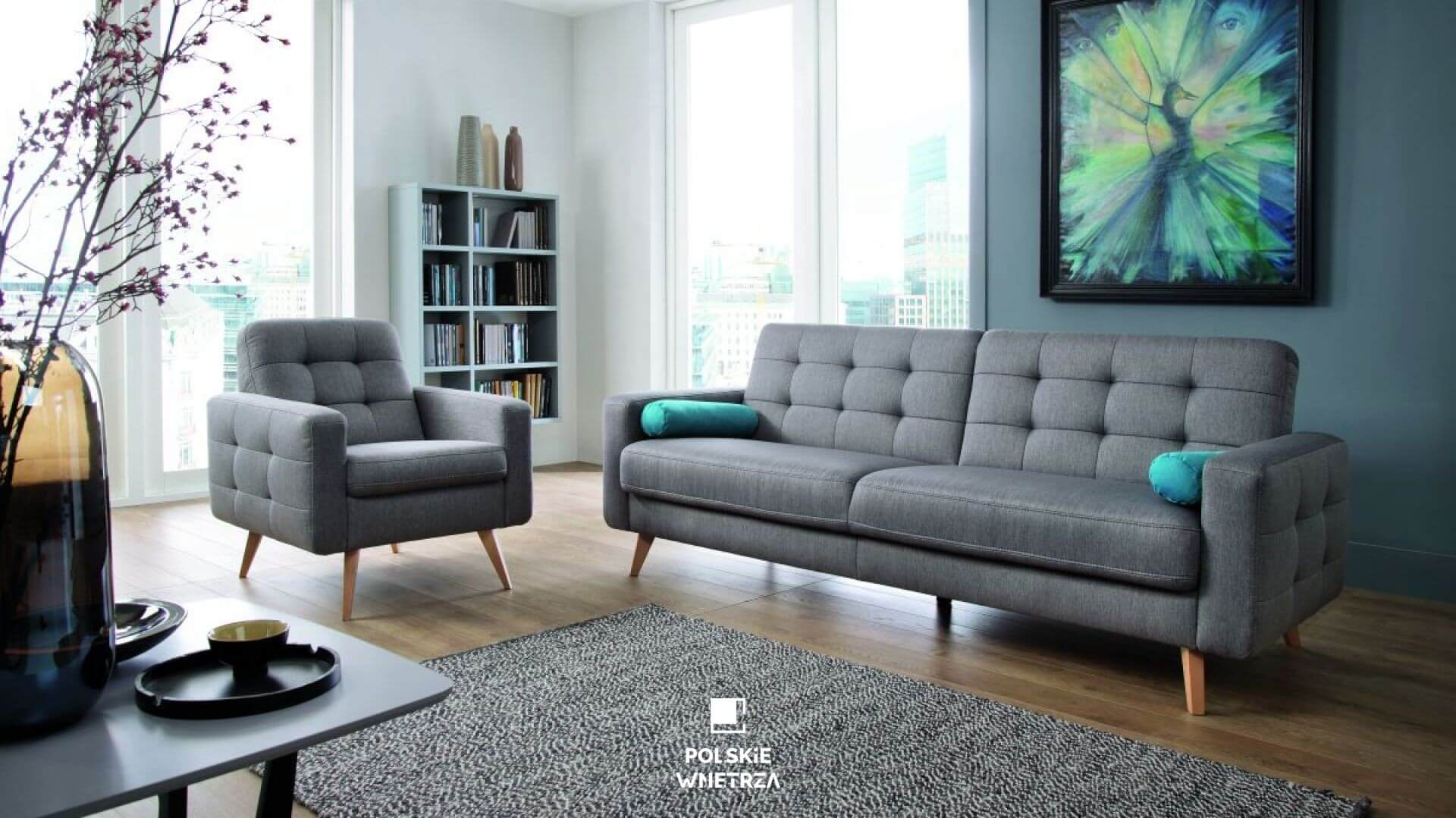 Polskie Wnętrza - Porada - Jak wybrać rozkładaną sofę do młodzieżowego pokoju? Sweet Sit